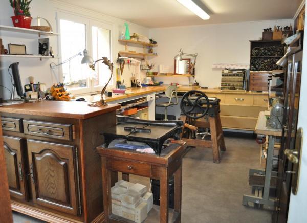 Le nouvel atelier à Cadarsac