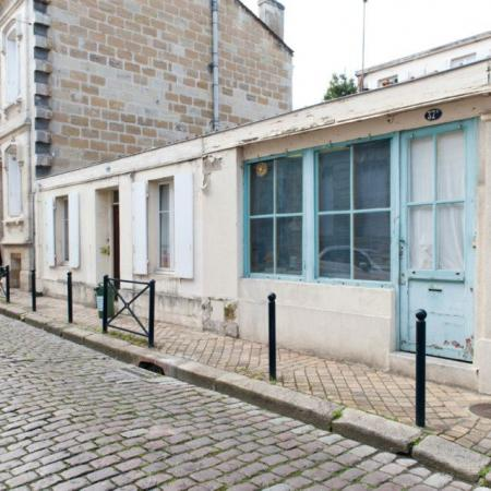La rue Barennes et l'atelier de reliure